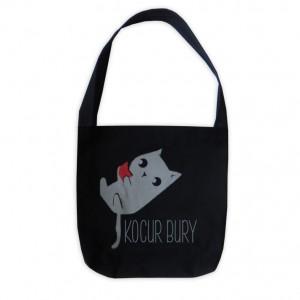 Torba Kocur Bury - czarna