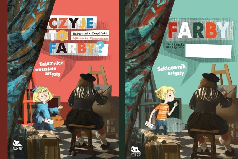Promocja – Farby: książka i szkicownik